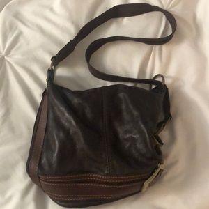 1f22575c0fda10 Handbags - Beautiful Dark Brown Italian Leather Purse